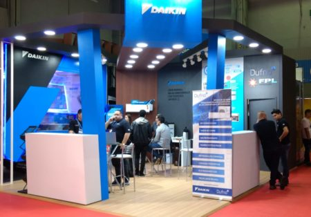 Dufrio e Daikin parceiras na Construsul 2019