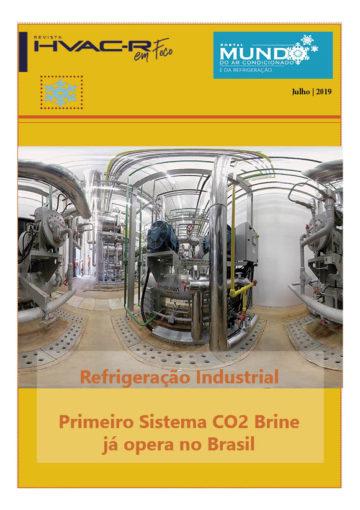 Primeira obra de Refrigeração CO2 Brine no Brasil
