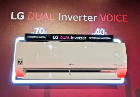 LG atualiza linha de AC DUAL Inverter, que passa a ser 100% VOICE