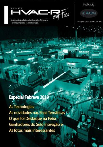 Revista HVACR em Foco – Especial  Febrava 2019 – Edição 50