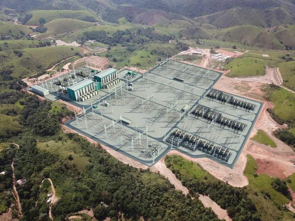 Usina Hidrelétrica de Belo Monte.