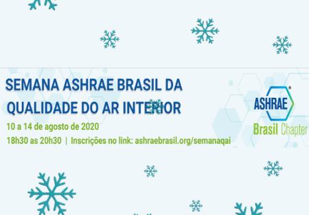 Semana Ashrae Brasil de Qualidade do Ar Interior inicia hoje