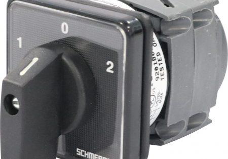 Chaves Comutadoras Rotativas da Schmersal atendem diversas aplicações