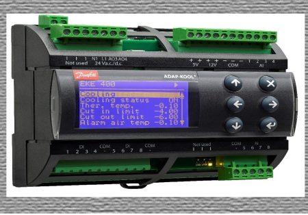 Refrigeração Industrial ganha nova versão do controlador de evaporador EKE 400 Danfoss