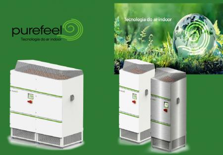 Chega ao mercado, a Purefeel  destinada à melhoria do ar interior (ar indoor)