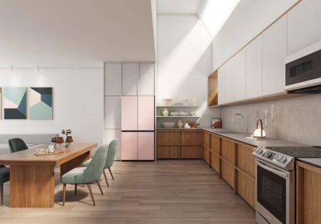Samsung oferece refrigeradores customizáveis para cozinhas modernas com a expansão da Bespoke para novos mercados