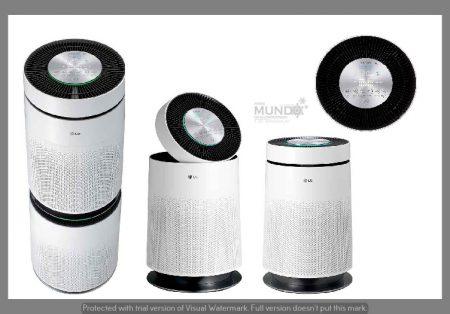 LG lança PuriCare™ 360°, purificador que assegura tecnologia, saúde e bem-estar