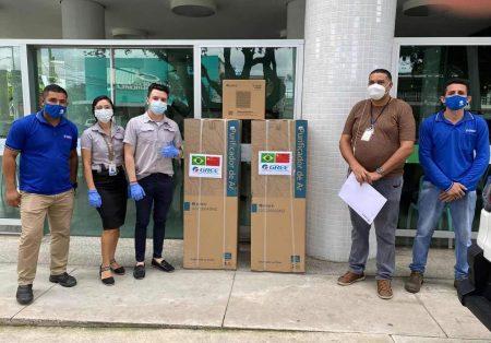 Gree doa mais de 9 toneladas de alimentos para Manaus desde o início da pandemia
