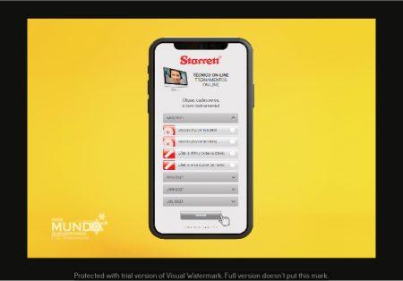 Starrett lança plataforma de cursos on-line gratuitos