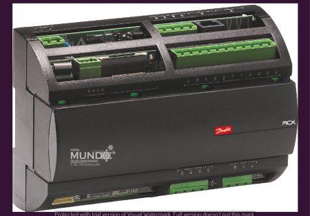 Linha de controladores MCX da Danfoss: aplicação em diversos segmentos de refrigeração