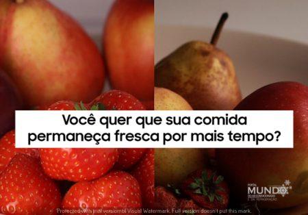 DICAS – Refrigeradores: como manter sua comida mais fresca por mais tempo. Por Samsung