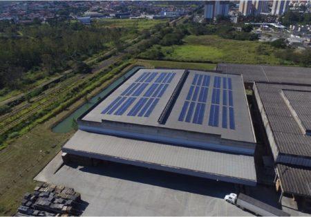Elgin investe R$ 5 milhões em instalação de células fotovoltaicas na unidade de Mogi das Cruzes (SP)