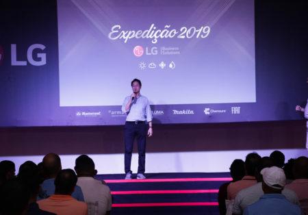 LG investe em instalação e manutenção preventiva/corretiva na expedição 2019
