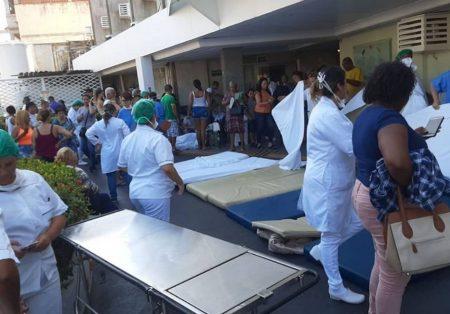 Princípio de incêndio no Hospital Balbino (RJ) começou em ar condicionado