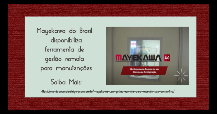 Slider Notícias Mayekawa 4.0