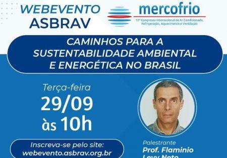 Evento online debate sustentabilidade ambiental e energética no Brasil
