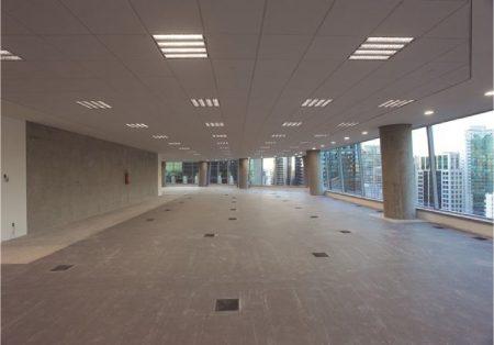 Tecnologia: Edifício Birmann 32, certificado LEED Platinum, optou por insuflação pelo piso AirFixture