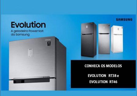 Samsung Evolution: o poder da resistência com tecnologia PowerVolt para geladeiras