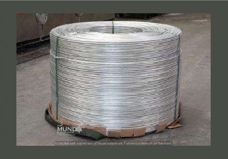 Termomecanica ofertará vergalhões de Alumínio