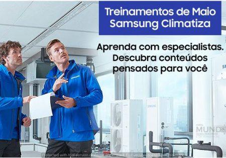 Samsung Climatiza dá treinamentos para especialistas em Ar Condicionado