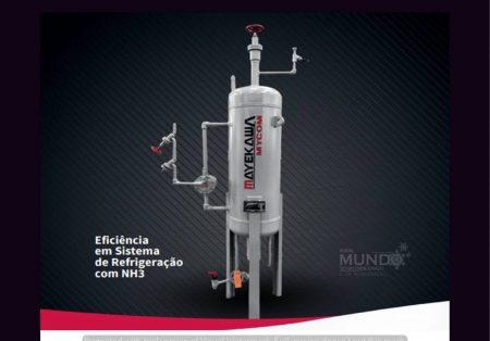 Desidratador de Amônia Mayekawa: eficaz na remoção de umidade em Sistema de Refrigeração Industrial