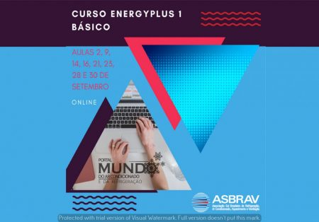 Abertas inscrições para curso EnergyPlus 1 Básico Online