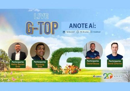 Agende-se: Gree Brasil realiza live sobre o G-Top, nesta quinta, dia 16