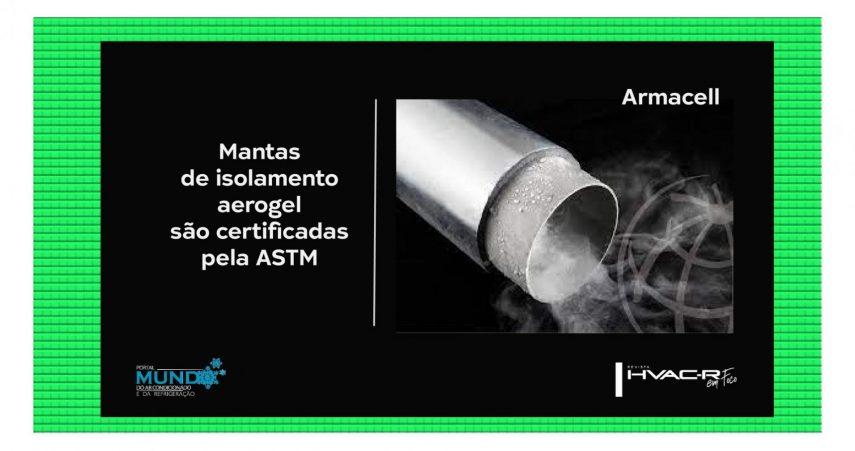 Armacell mantas de isolamento Aerogel