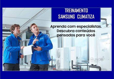Samsung Climatiza em outubro: treinamentos para especialistas em AC